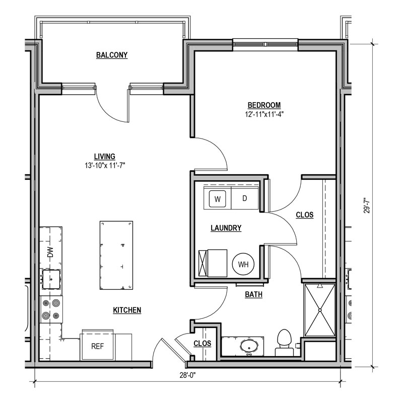 Apartment Floor Plans Statesman Apartments